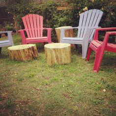 18/19: More Adirondack Chairs.