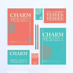 Charm is Yes series 매력이란 명백한 질문을 던지지 않고도 '예'라는 대답을 이끌어내는 능력이다. -알베르 카뮈 You know what charm is: a way of getting the answer 'Yes' without having asked any clear question. -Albert Camus