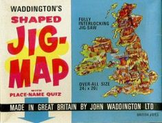 Jig Map Jigsaws