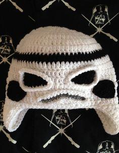 Star Wars Inspirado Tempestade Soldado Chapéu Guerra nas Estrelas -  /   Star Wars Inspired Stormtrooper Hat Star Wars -