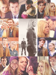 Rose Tyler and The Doctor. I finished the 10th with Rose and that got me tearing up so bad.