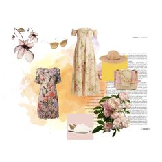 Fashion set Floral Summer created via Creative Home, Lifestyle Blog, Art Decor, Create, Floral, Summer, Design, Fashion, Thoughts