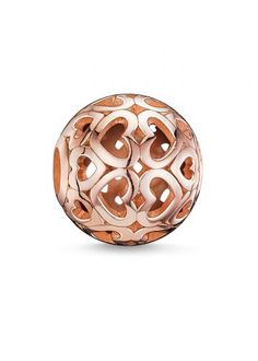 Thomas Sabo Karma Beads Rose Gold Hearts Bead