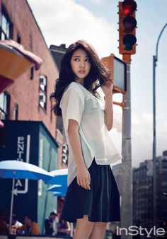 Park Shin Hye is Casual Sexy in NYC for InStyle Korea and Reveals She Wants to Act Opposite Yoo Seung Ho | A Koala's Playground