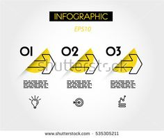 Find Yellow Linear Infographic Outline Arrows Outline stock images in HD and millions of other royalty-free stock photos, illustrations and vectors in the Shutterstock collection. Web Design, Layout Design, Powerpoint Design Templates, Ppt Template, Diagram Design, Brochure Design Inspiration, Arrow Design, Conceptual Design, Information Graphics