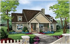 The Riverbirch A House Plan for Madison AL.