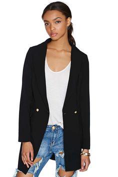 Believe Me Blazer | Shop Jackets + Coats at Nasty Gal