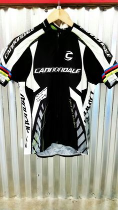 Cycle Shirts · Signed jersey from the one and only Tinker Juarez.   livinglegend  TinkerRBA  cannondale 475308324