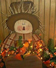 Holiday Wood Crafts, Fall Crafts, Decor Crafts, Holiday Decor, Harvest Party, Fall Harvest, Harvest Decorations, Halloween Decorations, Harvest Crafts