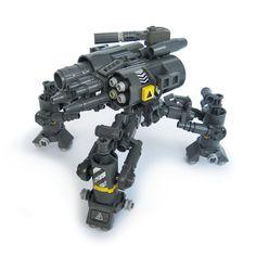 Tattaka v5 - Heavy Gunner #lego #mech
