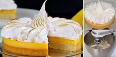 La mejor TARTA de limón o LEMON Pie con MERENGUE suizo qué jamás he hecho, mi familia ha flipado con ella!!   Receitas Soberanas