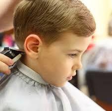 Corte de cabello semi hongo para ninos