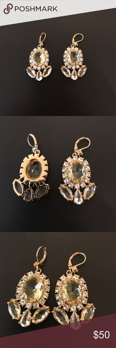 "Kate Spade Chandeliers Earrings Beautiful Kate Spade Chandelier earrings. 14k gold filled. Worn once to a party. 2"" Long, 1"" wide kate spade Jewelry Earrings"