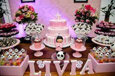 Festa de um anos da Livia
