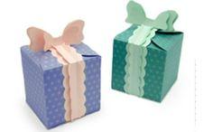 Moldes de cajas de cartón