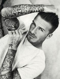 David Beckham - tattoos