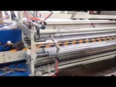 Toilet paper rewinding machine toilet paper making machine testing run