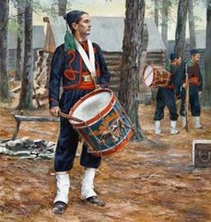 Don Troiani - Corcorans Irish Legion Drummer - $75.00 Click link below to see this and more prints. www.blog.delawarerivergallery.com