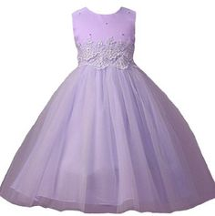 Amazon.com: Girls KID Collection New Cinderella Tulle Flower Girl Dress: Clothing