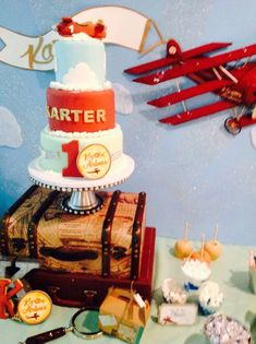 Vintage Airplane Party   | CatchMyParty.com