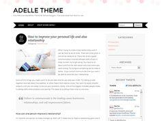 WordPress › Adelle « Free WordPress Themes
