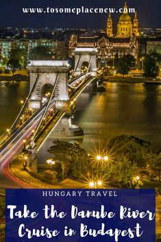 Are you planning a trip to Budapest, Hungary? Add the Danube river cruise to your itinerary. Enjoy stunning views of the bridges and the Parliament building in Budapest, all in nights glory whilst enjoying a 3 course meal. Read this more for more informat Budapest Nightlife, Budapest Travel, Places To Travel, Places To Go, Danube River Cruise, Cruise Reviews, Top Destinations, Night Life, Cool Photos