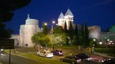 Puerta de Bisagra. Toledo, Spain.