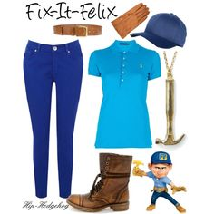 Fix-It-Felix #disney #outfits