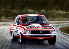 Peter Brock – by Chris James Holden Muscle Cars, Aussie Muscle Cars, Racing Team, Road Racing, Holden Torana, Holden Australia, Car Prints, V8 Supercars, Australian Cars