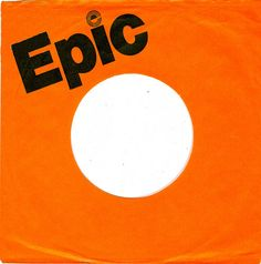 45 rpm record sleeve - Epic - UK - 1977