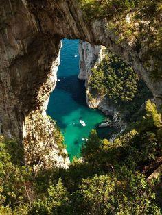 Natural Arch, Isle of Capri, Italy