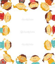Free Borders For Word Documents | Children border | Stock Vector © Victoria Barinova #4905014