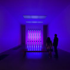 © invisiblegentleman.com | blue purple tilt | jenny holzer at tate modern