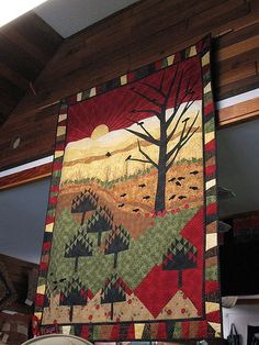 Quilt seen in British Columbia;  photo by Jenny Henk, via Flickr