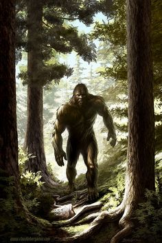 Bigfoot by ClaudioBergamin.deviantart.com on @DeviantArt
