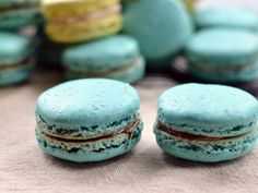 An easy step by step recipe for macarons, with many great tips