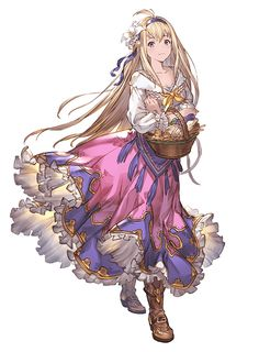 Jeanne d'Arc SR from Granblue Fantasy