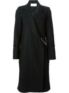 Shop Victoria Beckham chain detail fitted coat in Smets from the world's best independent boutiques at farfetch.com. Over 1000 designers from 60 boutiques in one website.