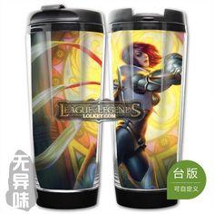 League of Legends LOL Classic Skin Fiora Plastic Coffee Cup