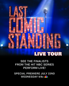 """Join the comics from the hit TV show """"Last Comic Standing"""" as they perform up close and live! Get your tickets now at www.thevetsri.com"""