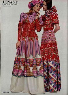 #LANVIN #1972 #70's