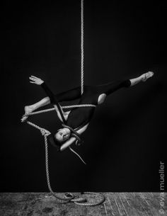 evamueller:  Look up this weekend to see aerialist Seanna Sharpe and her acrobatic partner, boa Arishka, seemingly effortless defies gravity...