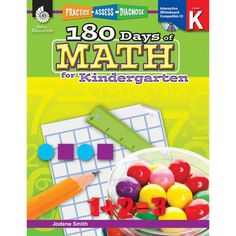 Practice Assess Diagnose 180 Days of Math for Kindergarten