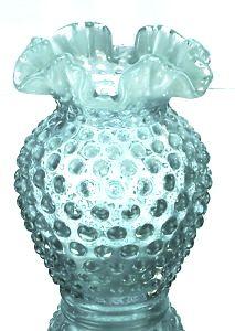 Fenton hobnail vase ... via Cindy Lyons, Pinterest