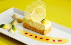 Zesty Lemon Bars with Custard Filling and Shortbread Crust will bring intense flavor to your wedding menu.