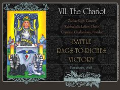 In-depth CHARIOT TAROT CARD MEANINGS - UPRIGHT& REVERSED! The Chariot Tarot Meanings include LOVE, NUMEROLOGY, & SYMBOLS for more accurate TAROT READING.
