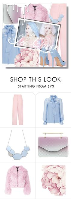 """""""Ice Queens"""" by marimara1 ❤ liked on Polyvore featuring Joseph, Temperley London, M2Malletier, Charlotte Simone, Gianvito Rossi and Nivea"""