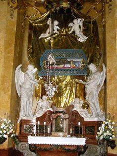 Georg Raphael Donner - oltář sv. Jana Almužníka, 1729-32