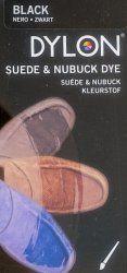 Dylon Suede & Nubuck Shoe Dye (Black) - [UK & IRELAND]