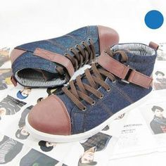 Buckled High-Top Sneakers from #YesStyle <3 Free Shop YesStyle.com.au
